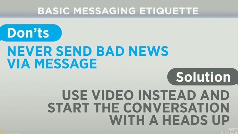 How to practice good text messaging etiquette