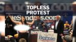 Bernie Sanders protest