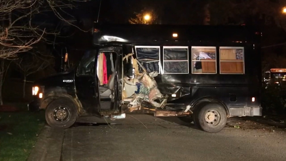 Surrey crash bus