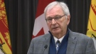 """I didn't expect there'd be so many gaps in the roll out plan,"" said Premier Blaine Higgs on why the province has put the brakes on its healthcare reforms. (CTV ATLANTIC / LAURA BROWN)"