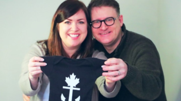 Ontario Liberal leader hopeful announces pregnancy on Family Day