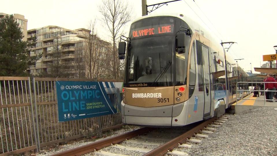 Olympics transportation