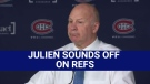 Montreal Canadiens coach Claude Julien