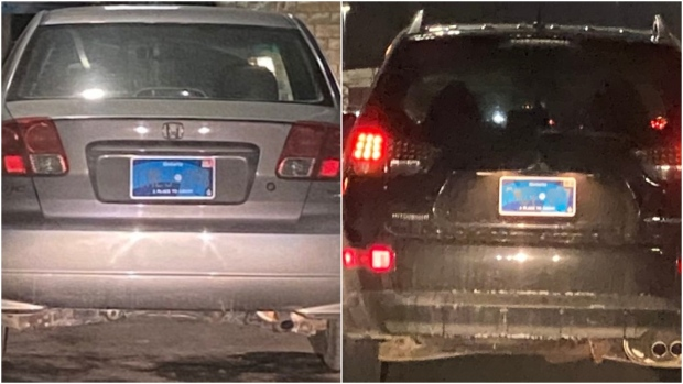 Government looking into reports new Ontario licence plate is unreadable at night