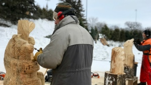 Taking a look at all the festivities of the 2020 Festival du Voyageur. (Source: Jon Hendricks/CTV News)