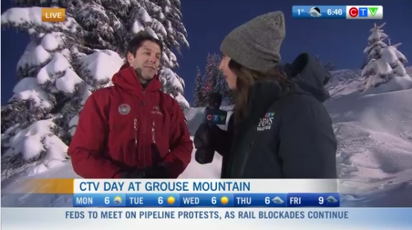 CTV Day at Grouse Mountain