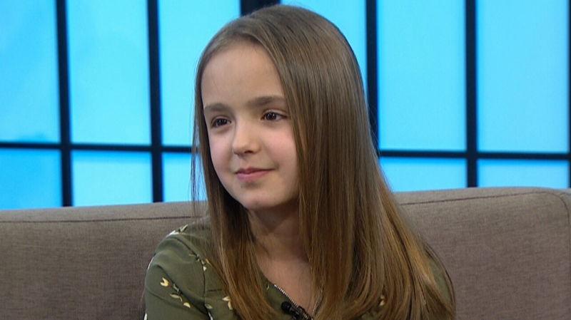 11-year-old Sophia Spencer sat down with CTV's Your Morning to discuss her new children's book The Bug Girl.