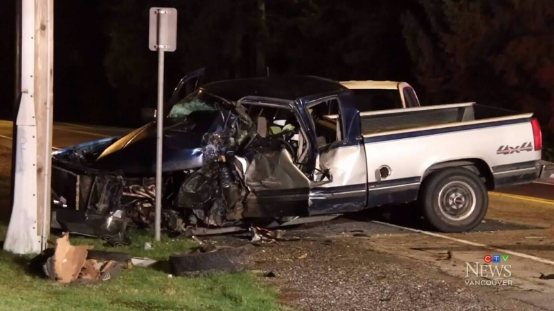 Man in critical condition after 3-car crash