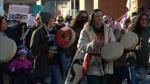 pipeline protest Bloor Street