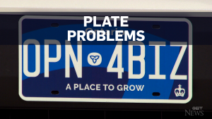 Plate problems title card