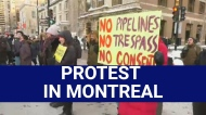 Protest on Sherbrooke St. supports Wet'suwet'en