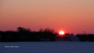 Sunday evening's sunset, it was glorious! (Kathy Hebb/CTV Viewer)