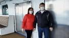 Edmonton couple on cruise awaiting results