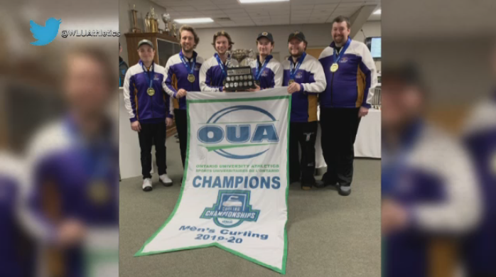 WLU men's curling team wins gold