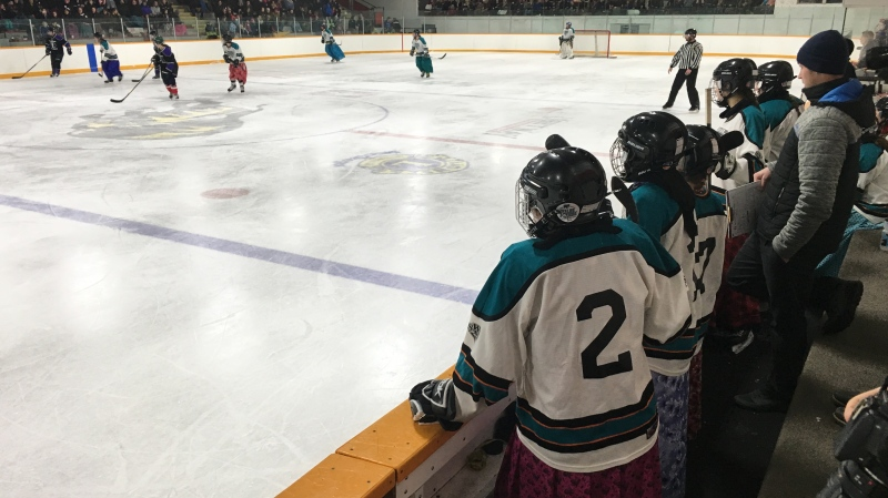 The game took place 6:30 p.m. on Monday, Feb 17, at the Stride Normac Centre in Macgregor, Man.