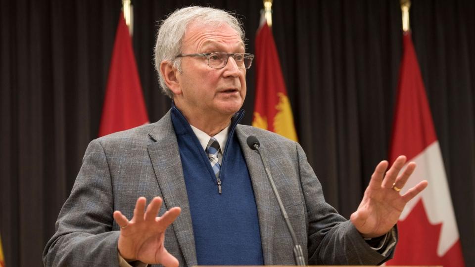 New Brunswick Premier Blaine Higgs