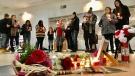 A vigil for Sheri Lynn Gauthier on Feb. 17, 2020. (Sean Amato/CTV News Edmonton)