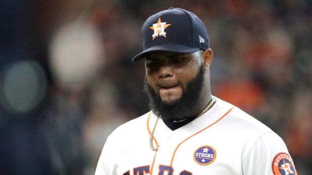Astros pitcher Martes suspended for 2020 following drug test