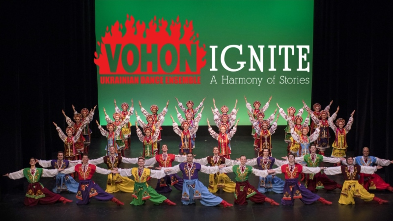 Vohon Ukrainian Dance Ensemble, Ignite