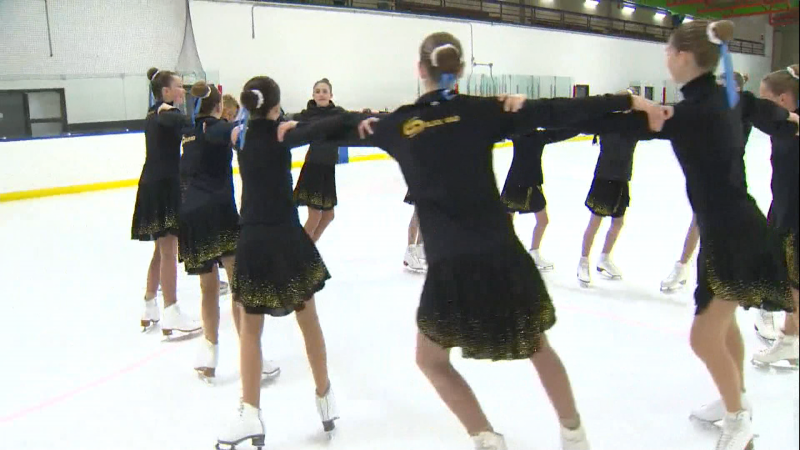 Calgary hosts the 2020 Synchronized Skating Nationals competition this weekend