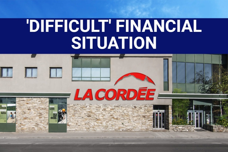 La Cordee files for bankruptcy protection
