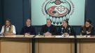 First Nations Leaders address anti-pipeline protes