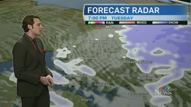 Snow expected to continue into Tuesday evening