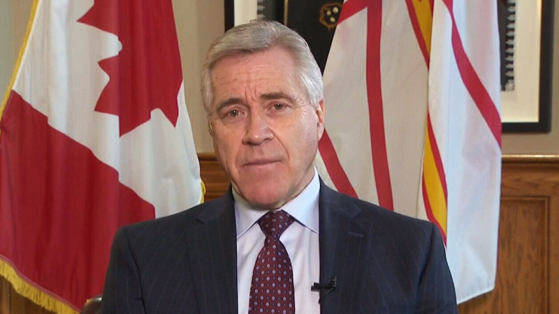 Newfoundland and Labrador Premier Dwight Ball