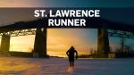 This Montrealer runs across frozen river to work