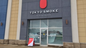 The Tokyo Smoke store in Cambridge. (Feb. 19, 2020)
