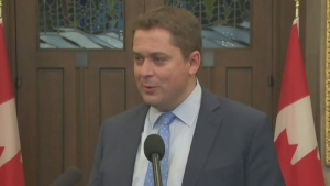 Scheer calls for resolution to railway blockades