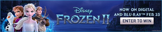 Frozen II on Blu-Ray Contest