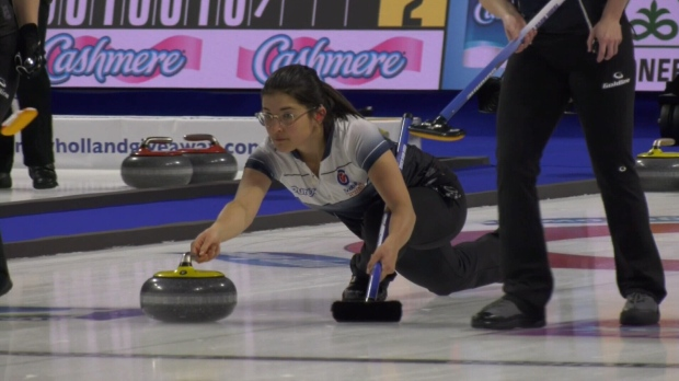 Nova Scotia athlete first deaf person to curl at Scotties Tournament of Hearts