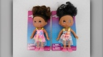"Health Canada has issued a recall for ""Ethnic Fashion Doll"" and ""Lovely Gal Fashion Doll"" toys over concerns about a potential chemical hazard. (Handout)"
