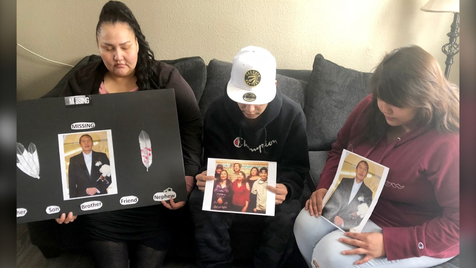 "Tamille Holloway, Dallas Axe and Tiffany Holloway have held several  search parties for Bradley who they also called ""Tohdoh"" which means brother in Nakoda."