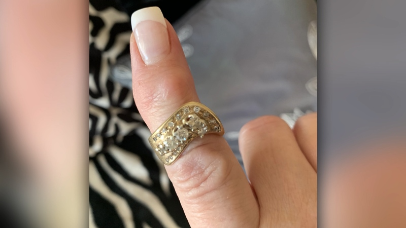 Linda Rodd-Kitchen brought her ring brought to a jewelery store in October. (Linda Rodd-Kitchen)