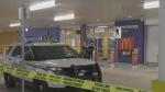 Man barricades himself inside Walmart store