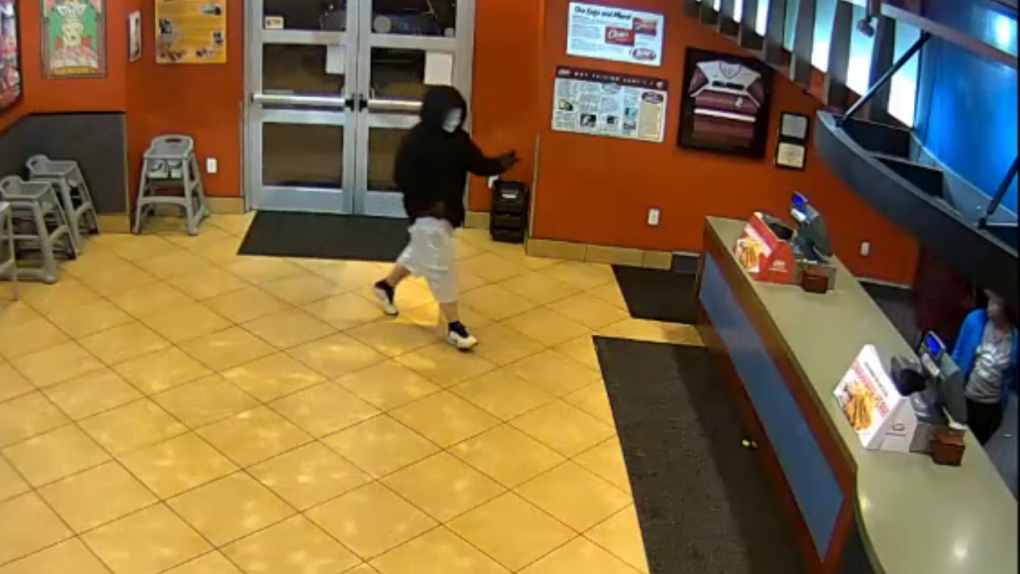 Armed Robber Interrupts Police Couple's Date Night