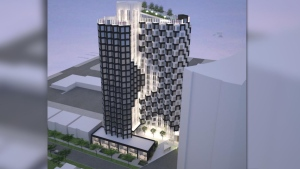 The proposed Hive Mixed-use Tower. (City of Edmonton)