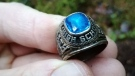 Debra McKenna lost the class ring her future husband gave to her 47 years ago in Portland, Maine. It was just found in a forest in Finland. (Marko Saarinen)
