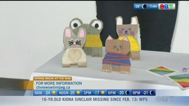 There are several spring break Art Camps kids can participate in at the Wag. Rachel Lagacé reports