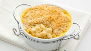 ATCO Blue Flame Kitchen, mac and cheese
