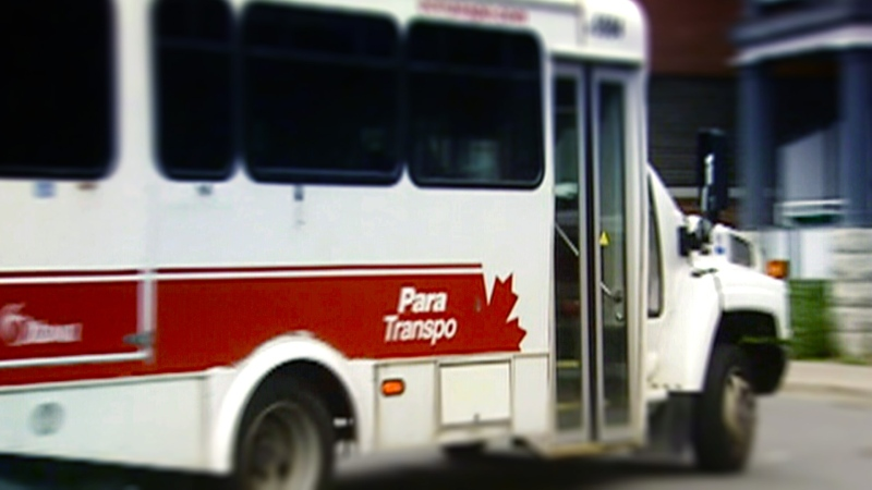 A Para Transpo vehicle is seen in this undated photo.