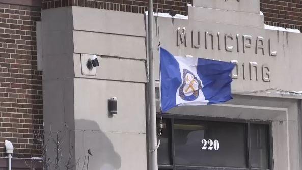 Flag at Timmins City Hall flies at half-mast
