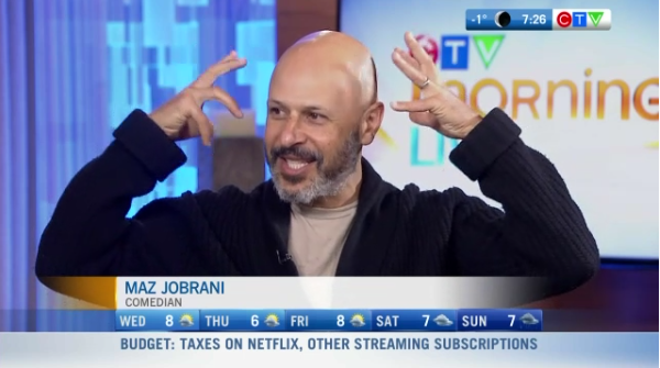 Interview with comedian Maz Jobrani
