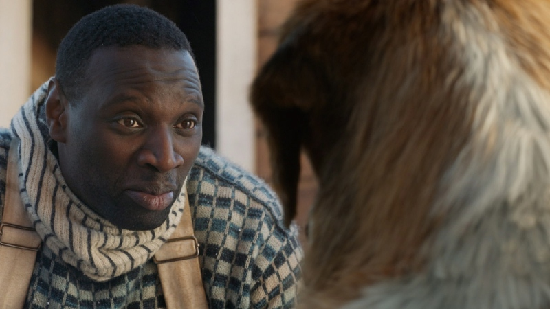 Omar Sy in a scene from 'Call of the Wild.' (20th Century Fox via AP)