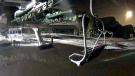 The web camera on the Jackrabbit chairlift at Sunshine Village captured a fireball early Wednesday morning (Sunshine Village)