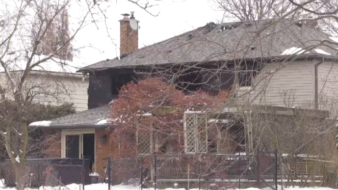 faraday house fire waterloo