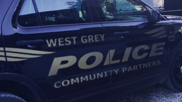File image of a West Grey Police vehicle.