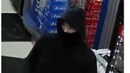 Security footage of a man wanted for convenience store robberies in Cambridge. (WRPS)